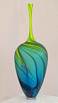 Art Glass by Dave Mills | rePinned by CamerinRoss.com