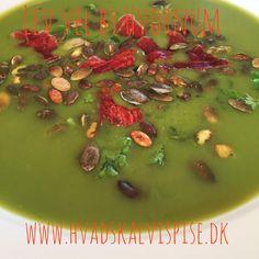 Edamame bønne suppe med lækre urter