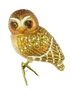 Old World Christmas Glass Ornament - Pygmy Owl Old World Christmas http://www.amazon.com/dp/B001VD30PW/ref=cm_sw_r_pi_dp_VJ7uub1GQC7C4