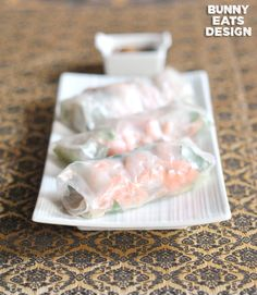 Thai Spring Rolls - make these ALL the time and they are SO delicious!
