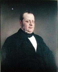 Francesco Hayez - Count Camillo Cavour (1810-61)