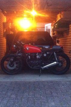 Honda CB360 caferacer