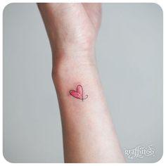 하트 ❤️ #타투이스트리버  #타투 #그라피투 #tattoo #graffittoo