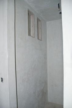 left_shower_wall Diy Concrete Stain, Concrete Shower, Stained Concrete, Master Shower, Shower Bathroom, Bathroom Renovations, Bathrooms, Diy Wall, Alternative
