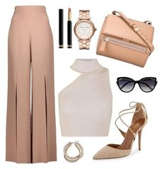 A fashion look from July 2017 featuring mock turtleneck, wide leg pants and nude pumps. Browse and shop related looks. Teen Fashion Outfits, Dressy Outfits, Stylish Dresses, Fashion Wear, Stylish Outfits, Mode Ulzzang, Outing Outfit, Looks Chic, Professional Outfits