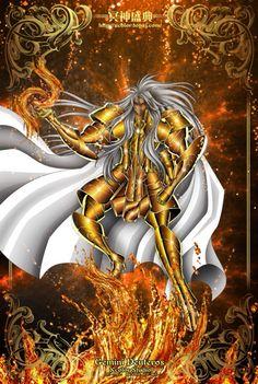 Saint Seiya - The Lost Canvas - Gemini Deutros