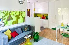 Małe mieszkanie to nie problem! Małe mieszkanie w bloku z powodzeniem możesz urządzić funkcjonalnie i komfortowo, wystarczy zastosować w nim kilka sprytnych rozwiązań. Skorzystaj z naszych podpowiedzi, a dostrzeżesz, ile aranżacyjnych możliwości kryje twoje małe mieszkanie. Będzie komfortowe! ZOBACZ NASZĄ GALERIĘ
