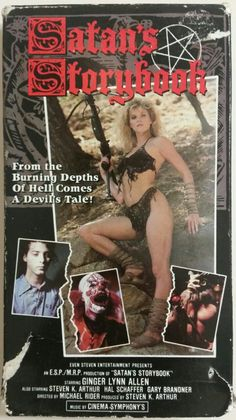 Late shot-on-video nonsense starring former porn queen Ginger Lynn. Sci Fi Horror Movies, Classic Horror Movies, Cult Movies, Creepy Movies, Horror Movie Posters, Cinema Posters, Movie Poster Art, Actrices Sexy, Pulp