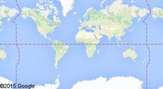 Карта мест, где жил пользователь