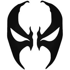 Brand New Spawn Face Mask Sticker and in stock. Self-adhesive, die cut, pre-masked and ready to apply to any smooth surface. High glossy finish, cut from premium 3 mill vinyl, with a life span of 5 - 7 years. Several size and color options are available.