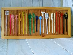 Swizzle sticks (Will need to find a way to display my collection)