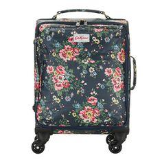Folk Flowers Wheeled Cabin-Sized Suitcase £115