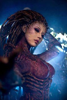 Starcraft Kerrigan Queen of Blades Cosplay http://geekxgirls.com/article.php?ID=1195