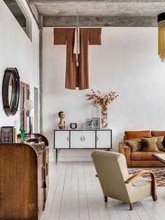 A spectacular vintage loft - Eclectic Trends
