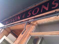 Climpson & Sons (plus Burnt Ends nearby) Burnt Ends, Sons, Neon Signs, Eat, My Son, Boys, Children