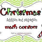 This Christmas Addition and Subtraction packet will keep your kiddos engaged in learning for days! :)This packet includes both black/white AND ...