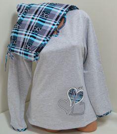 Ватирана дамска памучна пижама