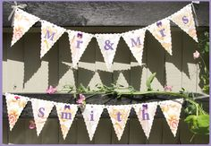 Wedding Bunting Wedding Bunting, Valance Curtains, Bespoke, Tapestry, Design, Home Decor, Taylormade, Tapestries, Homemade Home Decor
