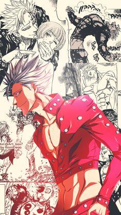 Anime Boys, Otaku Anime, Anime Naruto, Seven Deadly Sins Anime, 7 Deadly Sins, Noragami, Ban Anime, Wallpaper Bonitos, Animé Fan Art