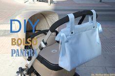 DIY, patrones, ropa de bebe y mucho más para coser.: DIY Cómo hacer bolso panera para el carrito del be...