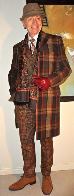 Ted Baker overcoat, William Hunt tweed blazer, Hudson Room shirt, Italian vintage silk tie, Suitsupply vest & pants, A. Testoni shoes…  #suitsupply #ted baker  #Testoni #menstyle #menswear #menscouture #mensfashion #instafashion #fashion #hautecouture #sartorial #sprezzatura #style #dapper #dapperstyle #pocketsquare