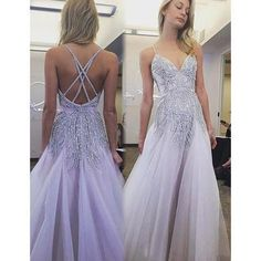 The prom dress is fully lined, 4 bones in the bodice, chest pad in the bust, lace up back or zipper back are all available, total 126 colors are available. This dress could be custom made, there are no extra cost to do custom size and color. Description of prom dress 1, Material:tulle,rhinesto