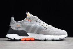 9de39faf2f49f6 adidas Nite Jogger 2019 Grey Black-Orange For Sale-5