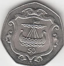 traditional Viking Yule | Rare Isle of Man 50p coins viking ships & Christmas Designs | eBay