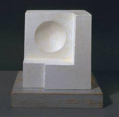 Ben Nicholson - 1936 (White Relief Sculpture - Version 1) - 1936