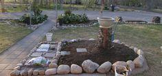 Selätön puutarhuri: Pihan muutokset, Garden changes