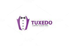 Tuxedo Logo by Creative Dezing on @creativemarket