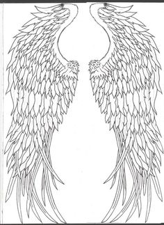 angel wings - i would love to get these very small somewhere!