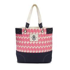 111142f6783 Tommy Hilfiger women 39 s handbag. The nautical print makes it a perfect.  Toile De CotonAncreSac ...