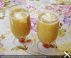 Eistee mit Vanilleeis