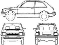 Toyota Starlet 3-Door (1984)