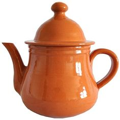 Tea Pot - Clay, for Boiling Tea the Good Old Fashion Way... Hand Made, 16 Oz, 2 Cups, -- Read more  at the image link.