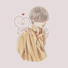 amazing beautiful tata and tae drawing Bts Taehyung, Taehyung Fanart, Kpop Fanart, Chanbaek Fanart, Bts Art, V Chibi, Anime Lindo, Kpop Drawings, Illustrations