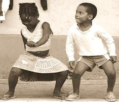 African dance: You need to learn when you are young!