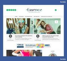The Essence – Free Clean Template