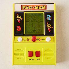 Handheld Pac-Man Arcade Game