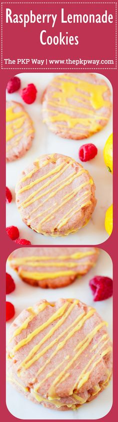 Made from fresh raspberry puree and lemon juice, these Raspberry Lemonade Cookies are perfect for your cookie jar and summer potlucks.