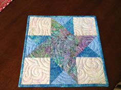 Quilted Candle Mat by TeaLeafCreations on Etsy,