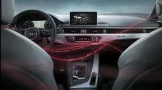 Il Bang & Olufsen Sound System della nuova Audi A4. Con il sistema sonoro 3D, l'abitacolo diventa emozione.