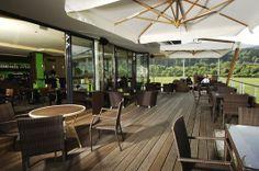 Terrasse #architecture #terrace #interior #catering Architekt: DI Bernd Ludin, Foto: Gerda Eichholzer