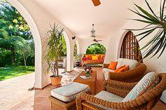 spanish hacienda patio