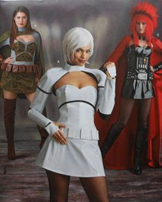 Plus Size  Cosplay Costume Sewing Pattern UNCUT by latenightcoffee