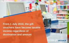 The impact of the new Tax Code on gift vouchers
