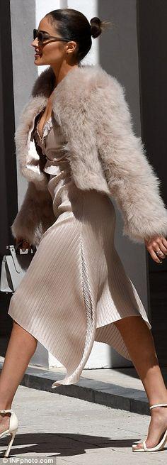 Firetrap bellamy panna cotta maxi dress