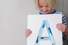 DIY this wall art with the kiddos.