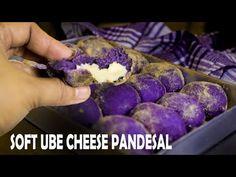 ube pandesal recipe with cheese Filipino Bread Recipe, Filipino Dishes, Filipino Desserts, Filipino Recipes, Filipino Food, Pinoy Recipe, Ube Recipes, Cheese Recipes, Baking Recipes
